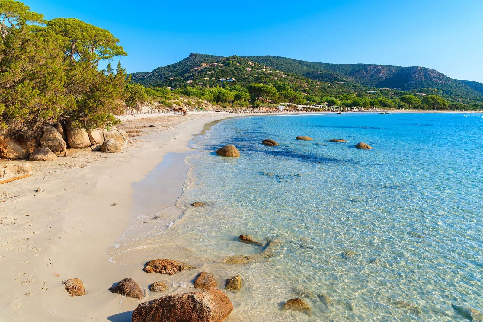 Corse plage Palombaggia